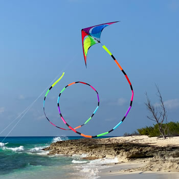 Prism 75ft Spectrum Tube Kite Tail